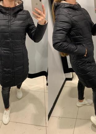Осеннее двусторонне пальто куртка mohito есть размеры