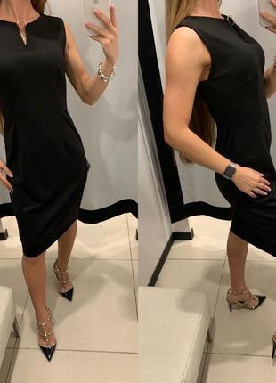 Чёрное платье футляр mohito есть размеры