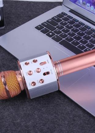 Мікрофон для караоке, WSTER WS858, блютуз мікрофон для співу, ...