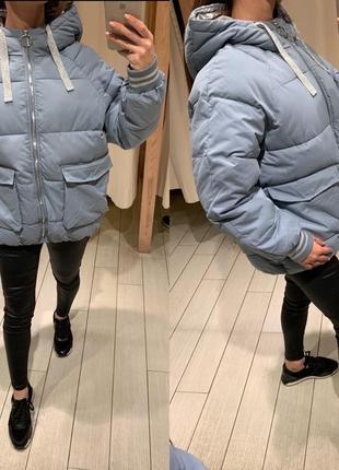 Объемная куртка пуффер курточка house есть размеры