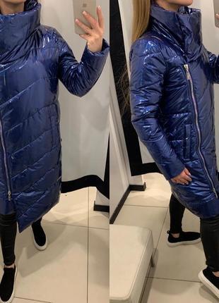 Стеганое зимнее пальто одеяло куртка курточка mohito есть размеры