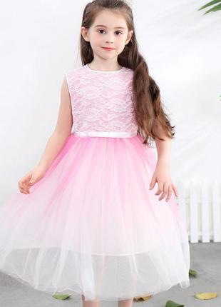 12-29 нарядное красивое детское платье на выпускной праздник у...
