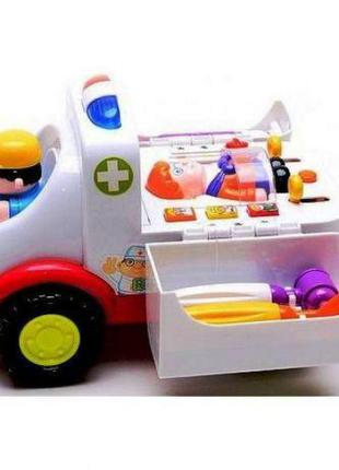 Машина Скорая помощь с Набором Доктора 836