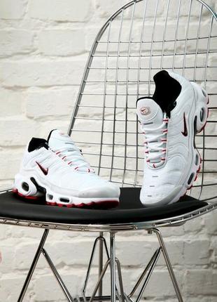 Nike Air Max Tn + White/Red