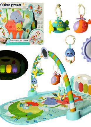 Коврик развивающий для младенца 9912 N пианино, 68х44 см