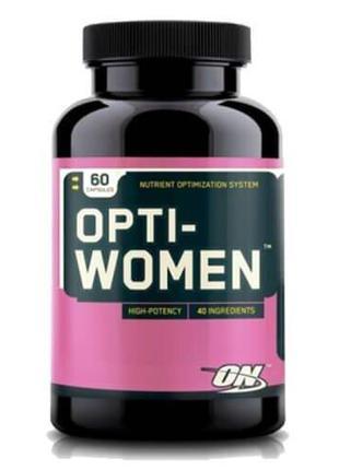 Витаминно-минеральный комплекс, ON Opti-Women 60 капсул