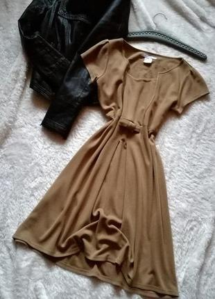 Платье миди в стиле ретро франция р.38