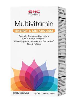 Витамины для женщин, GNC Women's Ultra Mega Energy & Metabolis...