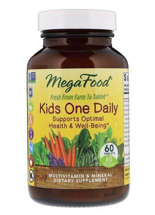 Мультивитамины для деток, MegaFood Kids One Daily 60 таб