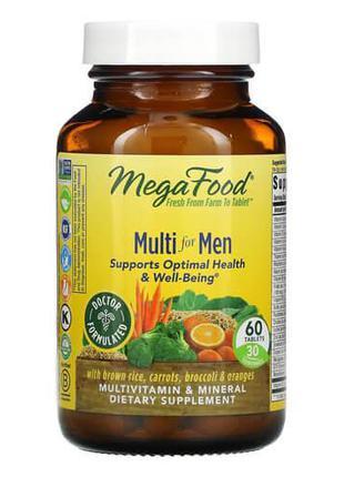 Натуральные витамины и минералы для мужчин, MegaFood Multi for...
