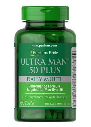 Витаминно-минеральный комплекс 50+ ,Puritan's Pride Ultra Man ...