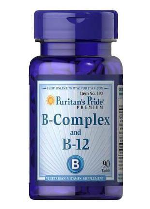 Комплекс витаминов группы B, Puritan's Pride Vitamin B-Complex...