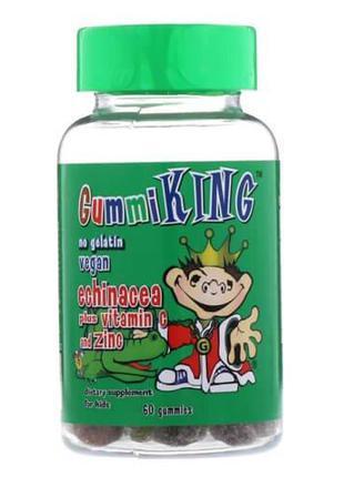Комплекс мультивитаминов для детей, Gummi King Echinacea Plus ...