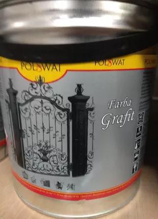 Фарба для металу POLSWAT Grafit ( Польсват Графіт)