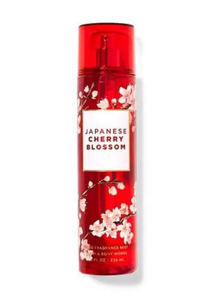 Спрей для тела мист Japanese Cherry Blossom bath and body works