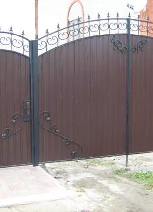 Изготовление ворот под заказ в Николаеве