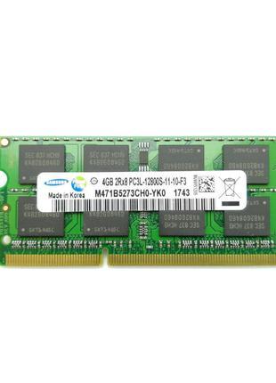 Оперативная память для ноутбука Sodimm DDR3L 4GB 1600mhz PC3L-...