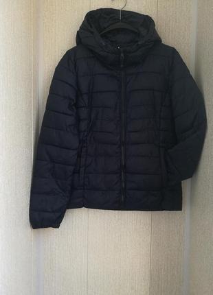 Демисезонная стеганная куртка-пуховик