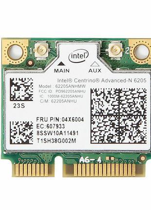 Wi-fi модуль HalfSize Mini pcie для Lenovo (FRU 60Y3253)Intel ...