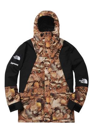 Куртка The North Face x Supreme Leaves ⏩ Наличие: (XXL)-2