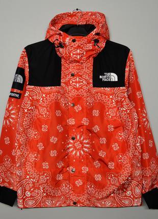 Куртка Supreme x The North Face bandana red ⏩ Наличие: (M)-2 (...