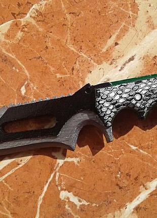 Деревянный сувенирный нож из игры CS:GO-Snake Bite Knife (Укус...