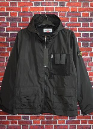 Куртка Stone Island x Supreme Black ⏩ Наличие: (S)-2