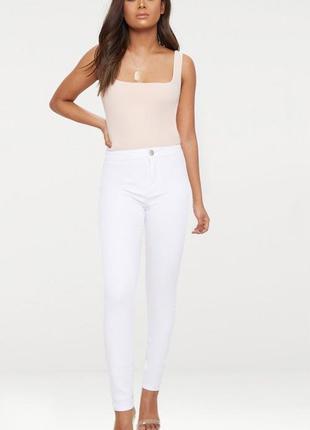 👑♥️final sale 2019 ♥️👑  белые джинсы на низкий рост
