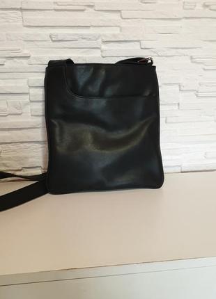 Небольшая кожаная кросс боди сумка nova leather