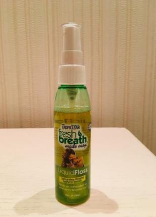 Спрей для полости рта мелких пород собак TropiClean Liquid Floss