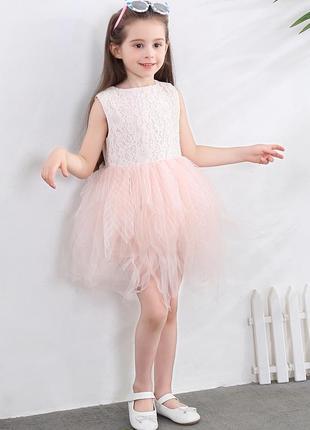 12-50 нарядное красивое детское платье на выпускной праздник у...