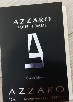 Azzaro pour homme туалетная вода для мужчин 1.2мл