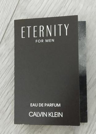 Calvin klein eternity  парфюм для мужчин 1.2мл