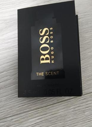 Hugo boss the scent туалетная вода для мужчин 1.5мл