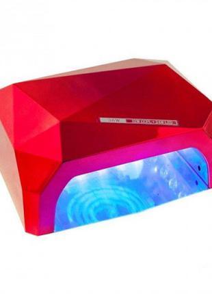 Лампа Beauty Nail CCF 36W UV/LED для полимеризации Red (46056-IM)