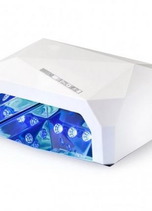 Лампа Beauty Nail CCF 36W UV/LED для полимеризации White (4616...