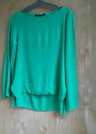 Стильная яркая блузка zara