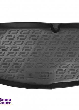 Коврик в багажник для Mazda 2 '07-14