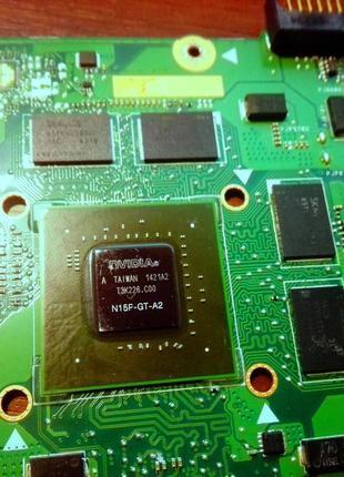 Материнская плата N751JK Rev.2.0 SR1PX N15P-GT-A2 неисправна