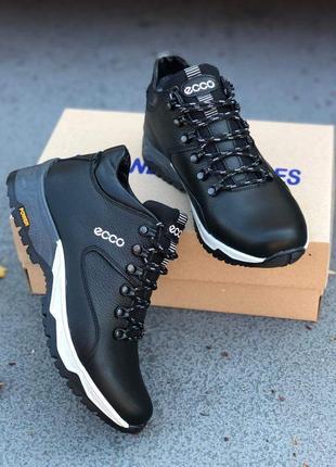 Кожаные мужские зимние ботинки зимові чоловічі шкіряні черевик...