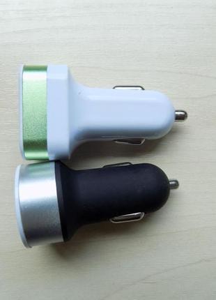 Автомобильное зарядное устройство USB переходник в машину