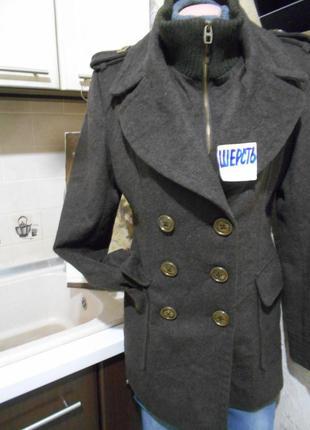 #miss sixty#крутое пальто шерсть #куртка #парка #полупальто #