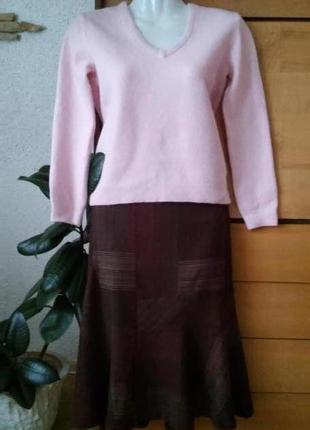 Стильная юбка известного бренда, интересные детали кроя