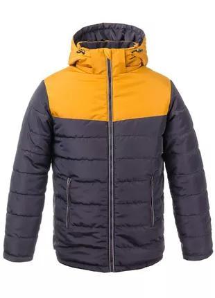 Размер 36-46 стильная зимняя куртка для мальчика