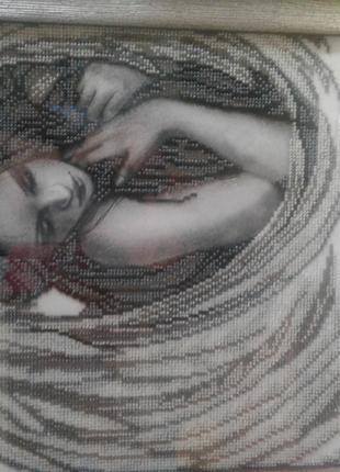 Картина бисером Ангел