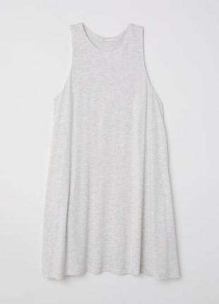 Стильное платье-майка с широкими проймами h&m