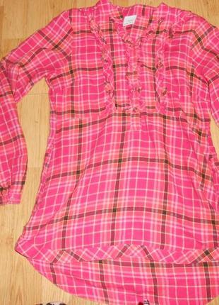Рубашка-туника на девочку 12 лет