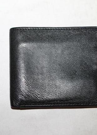 Классический кожаный кошелек портмоне 100% натуральная кожа