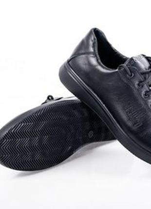 Туфли мокасины кожаные