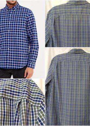 Рубашка новая с длинным рукавом в клетку gap сорочка в клітку